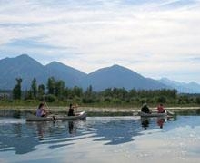 Canoe the Kootenay River
